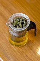 preparazione del tè / filtro del tè foto