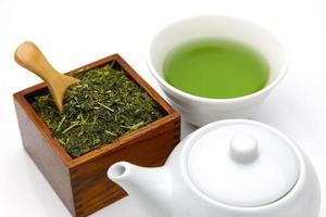 tè verde jananese foto