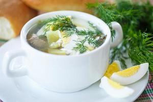 zuppa di acetosa