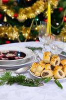 cena di Natale foto