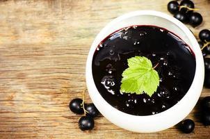 marmellata di ribes nero foto