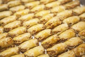 baklava turca foto