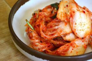 kimchi di cavolo. foto