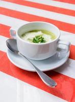 zuppa di broccoli foto