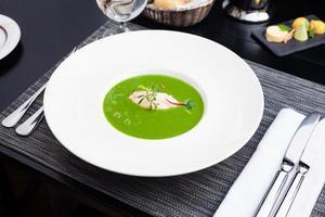 zuppa di crema di broccoli