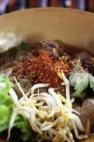 Noodles di carne
