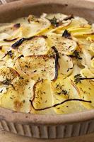 boulanger gratinato di patate foto