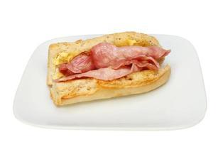 baguette al bacon foto
