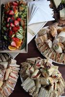 buffet di panini misti foto