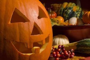 zucca di Halloween foto