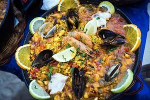 paella spagnola foto