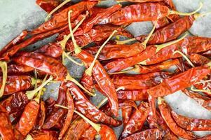peperoncino rosso secco foto
