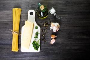 pasta all'aglio foto