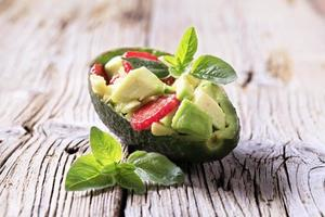 antipasto di avocado foto