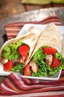sandwich di pollo foto