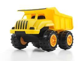 autocarro con cassone ribaltabile giocattolo foto
