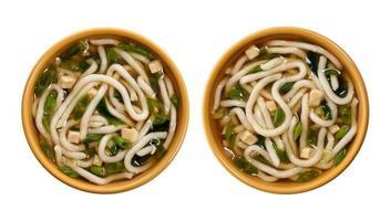 zuppa di miso foto