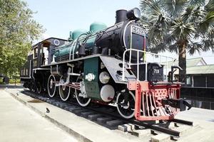 treno a vapore. foto