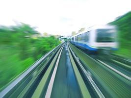 treno in movimento