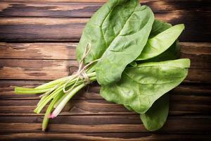 spinaci. foto