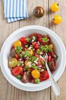 insalata di pomodori freschi foto