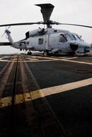 elicottero di salvataggio della marina foto