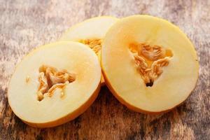 delizioso melone sul tavolo