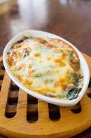 spinaci al forno foto