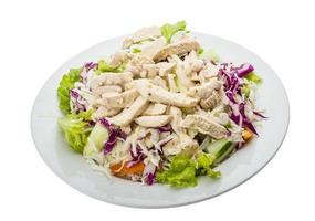 insalata di pollo foto