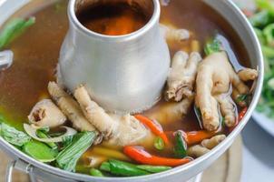 zuppa piccante foto