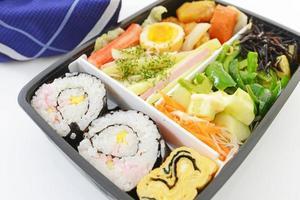scatola da pranzo giapponese foto