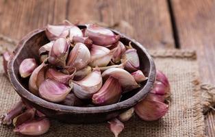 bulbi d'aglio foto