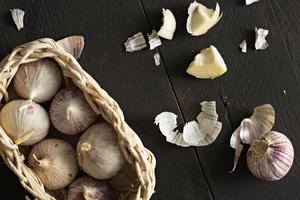aglio dalla Cina foto