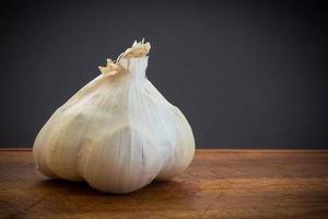 dettaglio spicchio d'aglio foto