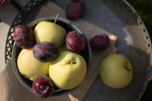 leckere früchte vom bauern foto
