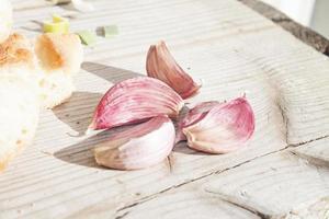 spicchio d'aglio foto