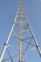 torre di telecomunicazione in acciaio foto