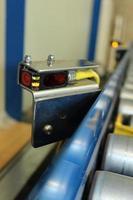sensore del nastro trasportatore foto