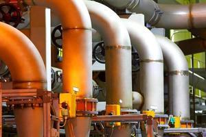 fabbrica chimica foto