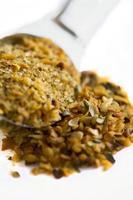 condimento all'aglio arrosto foto