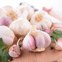 bulbo di aglio foto