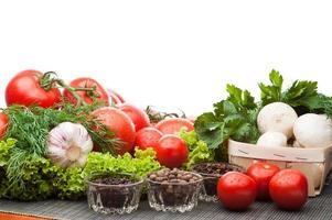 composizione di pomodori