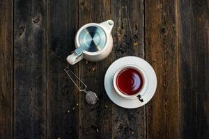 tè per l'impostazione del luogo foto