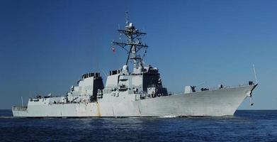cacciatorpediniere navale foto