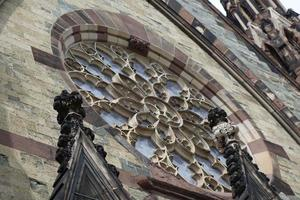 finestra della chiesa foto