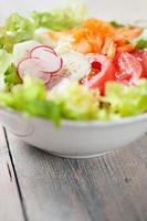 errore di insalata fresca foto