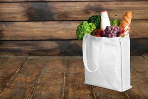 borsa, borsa della spesa, generi alimentari foto