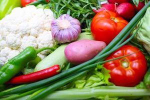 sfondo di verdure foto