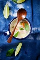 zuppa di salmone finlandese foto