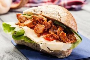 panino al kebab foto